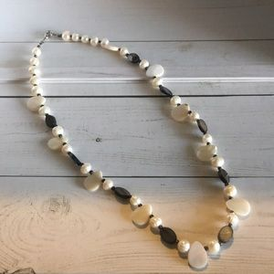 Custom Fresh Water Pearl & Mother Pearl Necklace